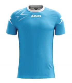 10 x Zeus Trui Mida Turquoise - Wit