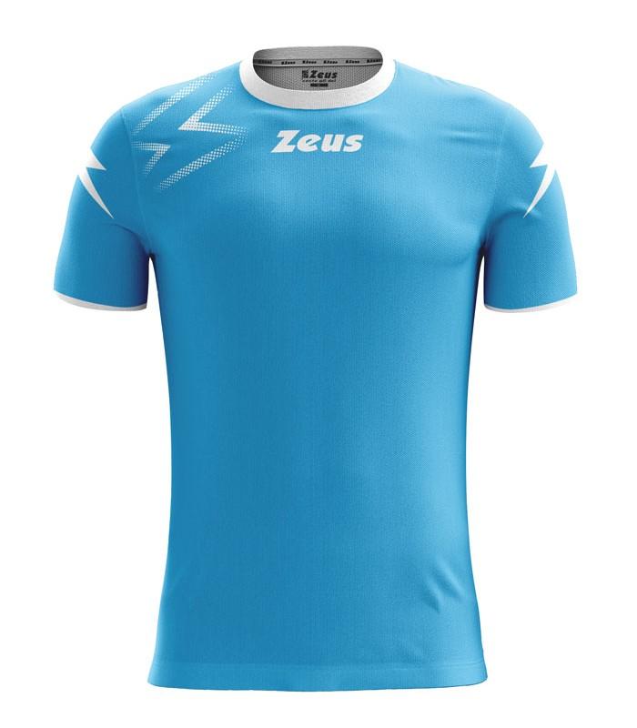 10 x Zeus Shirt Mida Turquoise - White