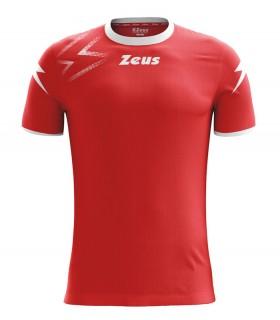 10 x Zeus Maillot Mida Rouge - Blanc