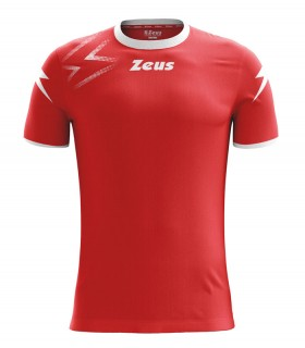 10 x Zeus Shirt Mida Red - White