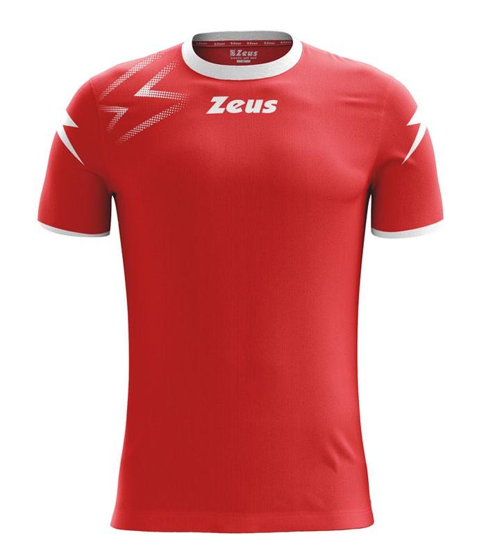 10 x Zeus Shirt Mida Red - White