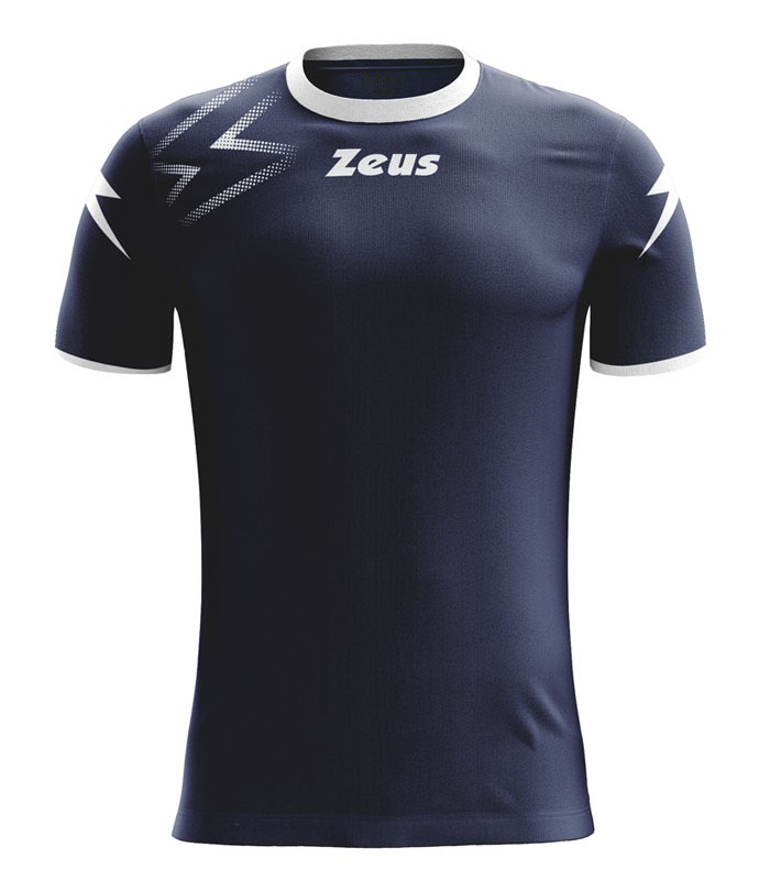 10 x Zeus Shirt Mida Navy - White