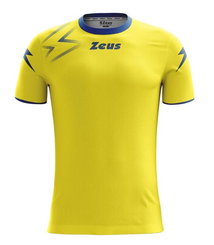 10 x Zeus Shirt Mida Yellow - Royal