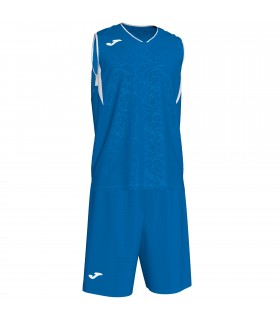 Kit Joma Campus Set Royal-Blanc