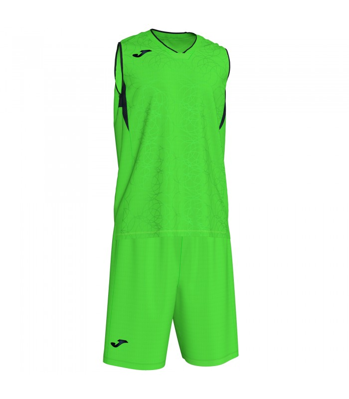 Kit Joma Campus Set FluoGreen-Black