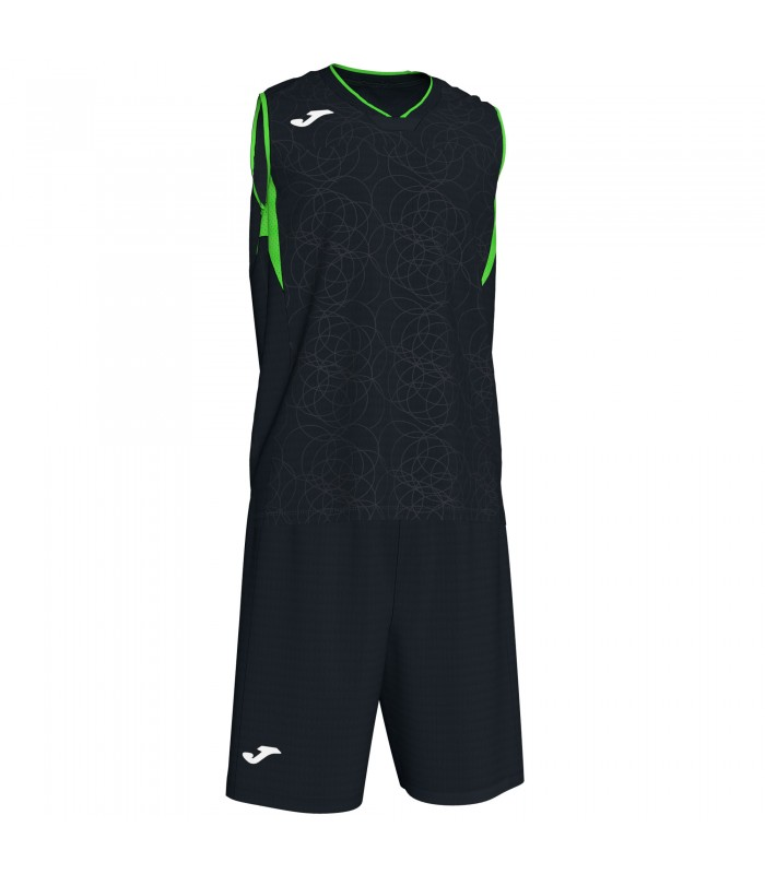 Kit Joma Campus Set Zwart-FluoGroen