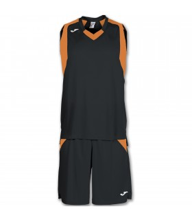 10x Kit Joma Final Set Zwart-Oranje