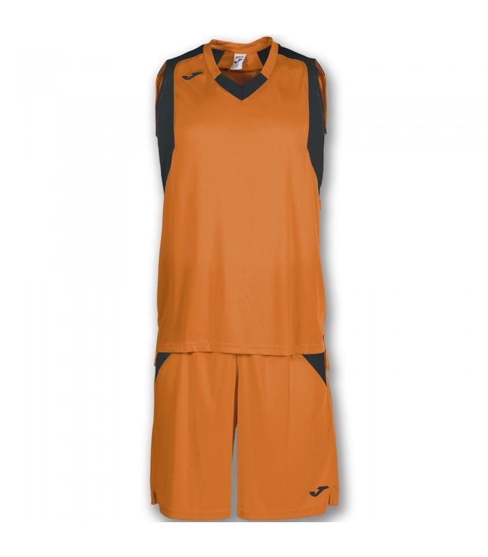 10x Kit Joma Final Set Oranje-Zwart