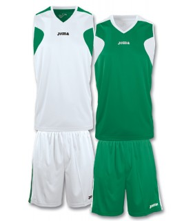 10x Kit Joma Reversible Set Blanc-Vert