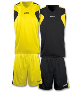 10x Kit Joma Reversible Set Yellow-Black