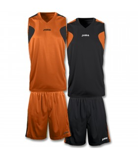 10x Kit Joma Reversible Set Oranje-Zwart
