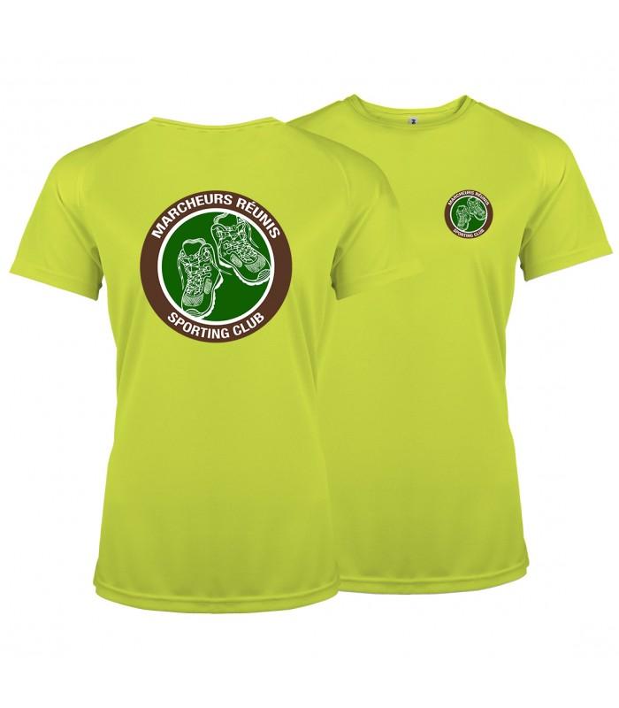 T-Shirt Sport Dame PABE1439 + 2 Logos
