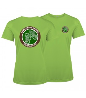 Sport T-Shirt Dames PABE1439 + 2 Logo's