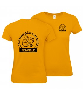 Cotton T-Shirt Ladies CGTBE1W02T + Logos
