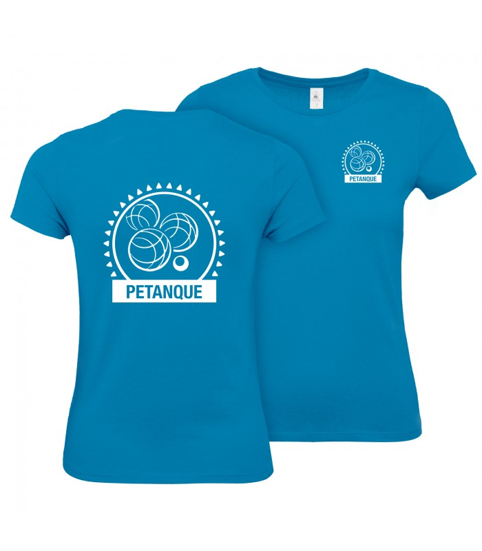 T-Shirt Coton Dame CGTBE1W02T + Logos