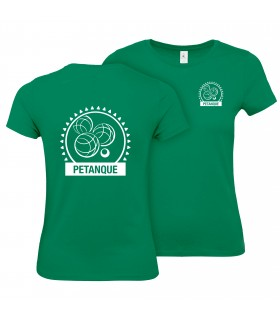 Cotton T-Shirt Ladies CGTBE1W02T + Logos