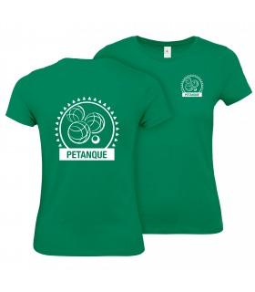 Katoen T-Shirt Dames CGTBE1W02T + Logo's