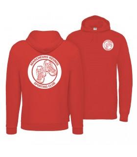 Sweatshirt à Capuche Adulte CGWUIBE121 + Logos