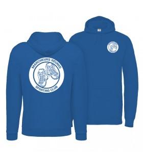 Sweatshirt met Kap Volwassene CGWUIBE121 + Logo's