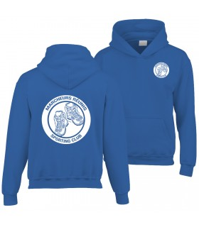 Hooded Sweatshirt Child GI185BE100B + Logos