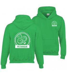 Sweatshirt à Capuche Enfant GI185BE100B + Logos