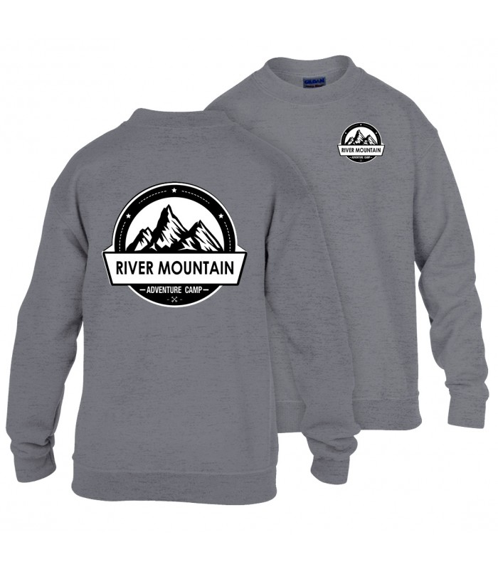 Sweatshirt Enfant GI180BE100B + Logos