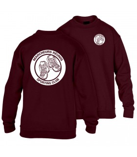 Sweatshirt Kind GI180BE100B + Logo's