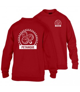 Sweatshirt Child GI180BE100B + Logos