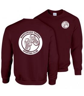 Sweatshirt Adult GI180BE100 + Logos