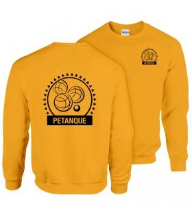 Sweatshirt Adulte GI180BE100 + Logos