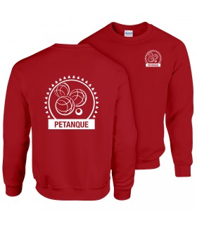 Sweatshirt Adult GI180BE100 + Logos