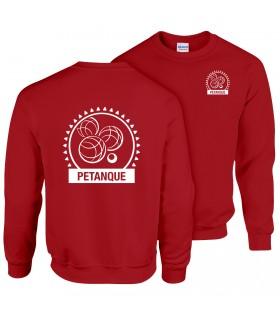Sweatshirt Volwassene GI180BE100 + Logo's