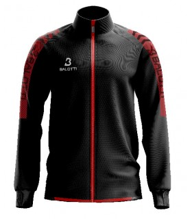 Veste de training Balotti Noir - Rouge