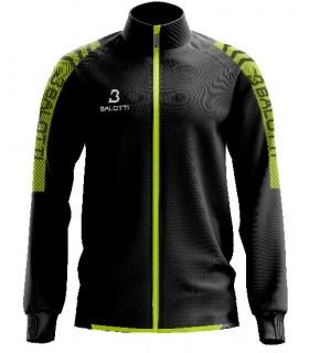 Training Jacket Balotti Jaguar Black - Yellow