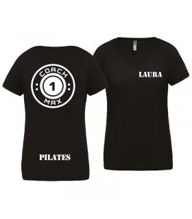 T-shirt woman coach1max black PIL