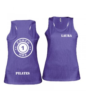 Damessporttop coach1max violet Pilates