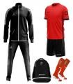 Pack Jaguar Balotti - Rood Zwart