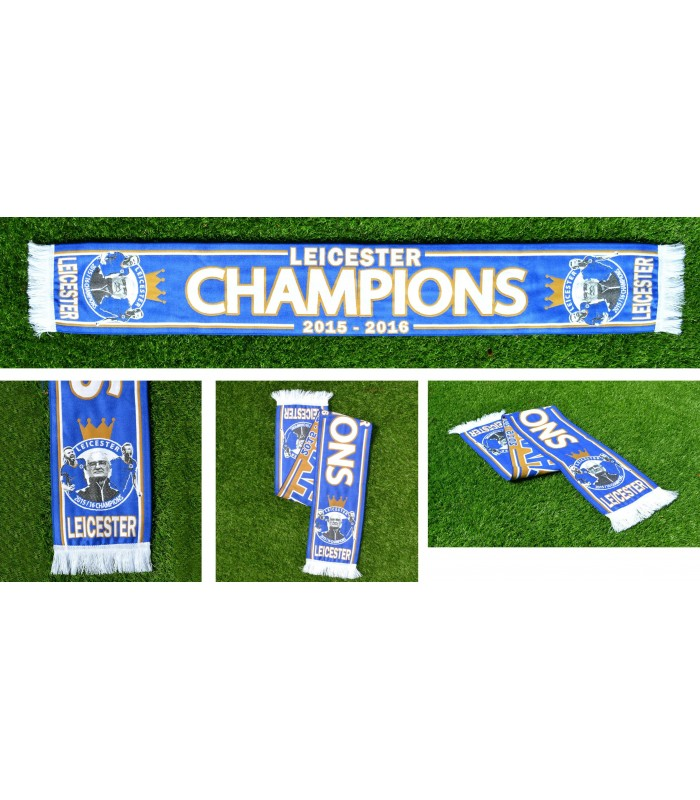 Scarf Leicester Champion 2015-2016