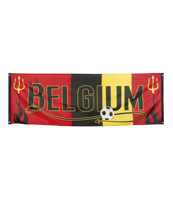 Bannière Belgium 220 x 74 cm