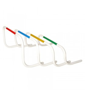 4 bounce back hurdle 20 - 25 - 30 - 35 cm