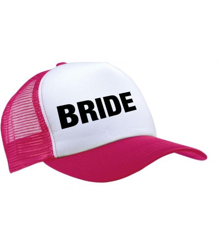 Mesh Cap - 5 Panels : BRIDE