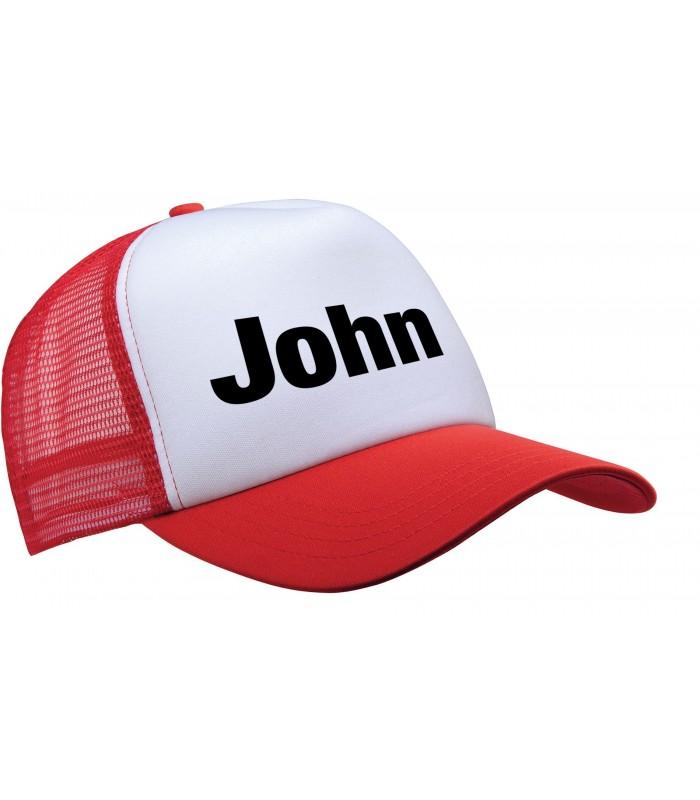 Mesh Cap + Name