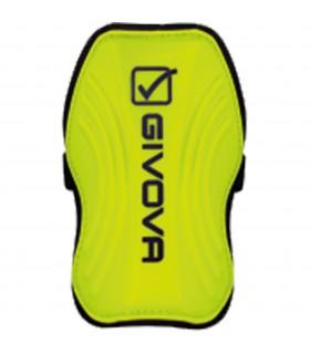 Beenbeschermer geel fluo