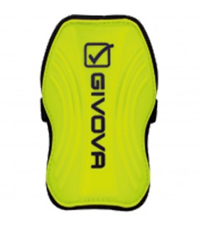 Shin Guard yellow fluo