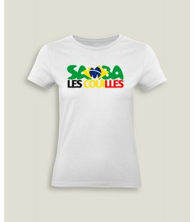 Dame T-shirt Samba les couilles