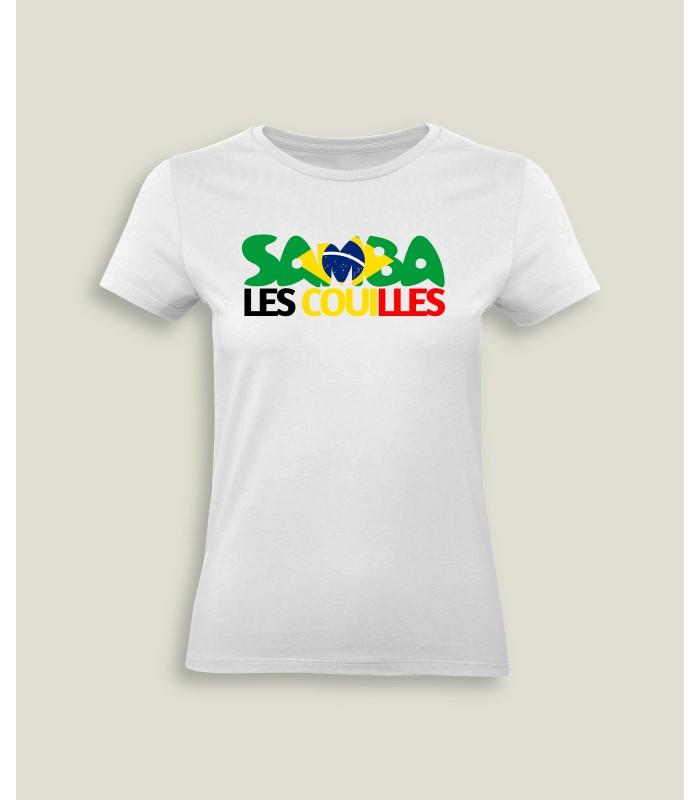 T-shirt Lady Samba les couilles