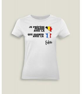Préfère perdre avec la Belgique