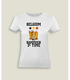 Belgium Kampioen 3e Time
