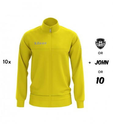 10x Zeus Sweater Giacca Enea - Yellow