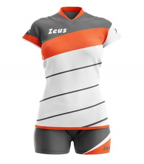 Zeus Kit Lybra woman white orange